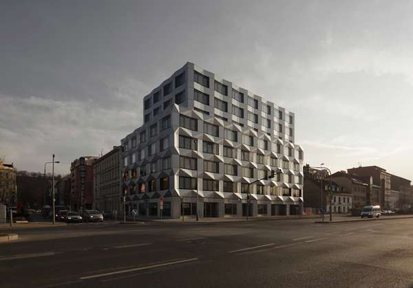 Crystallized Reflective Dwellings