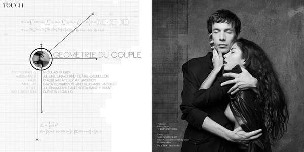Khube Magazine 'Geometrie du Couple'