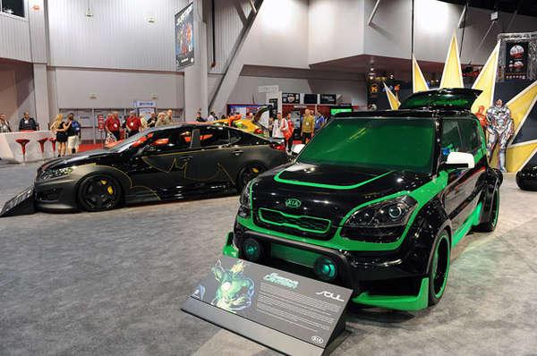 Extravagant Superhero Automobiles