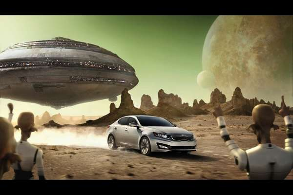 Epic Sci-Fi Car Ads