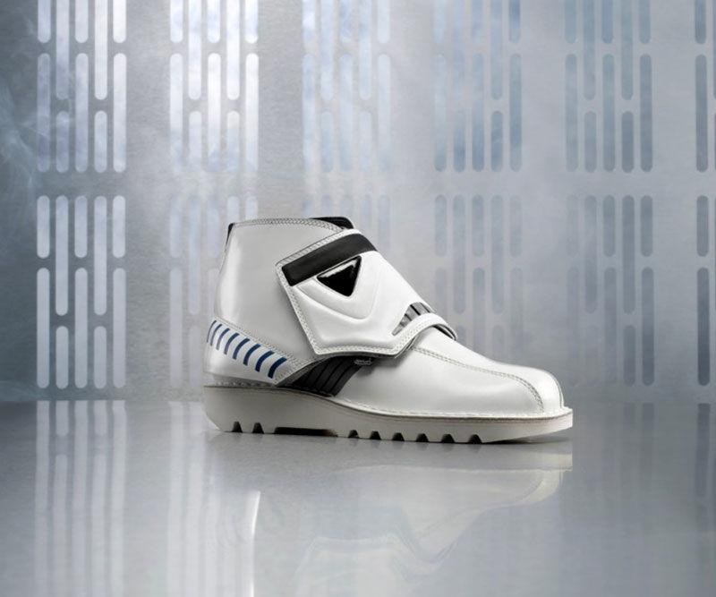 Sci-Fi Soldier Footwear