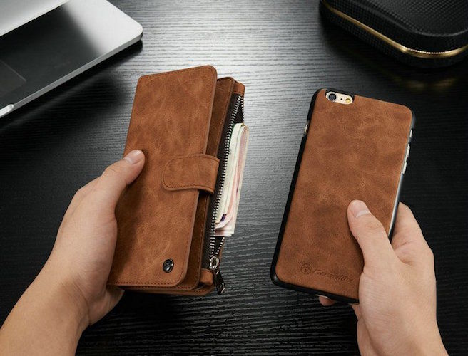Phone-Incorporated Wallets