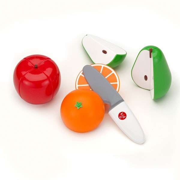 Fake Fruit-Cutting Kits