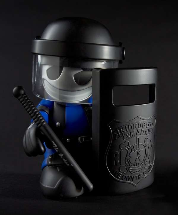 Badass Robot Riot Police