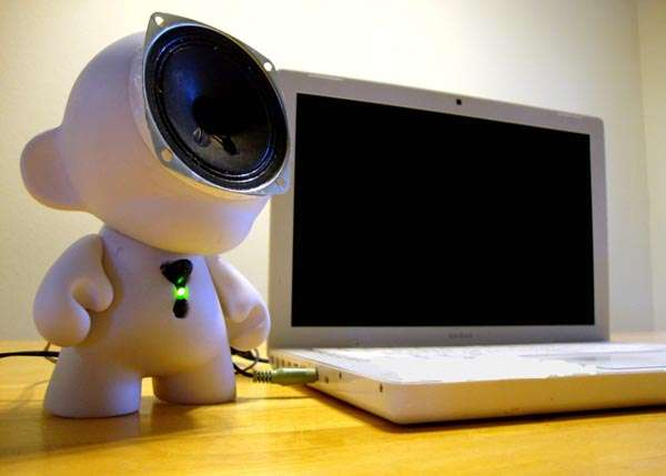 Diy Toy Speakers Kidrobot Munny Doll Speaker