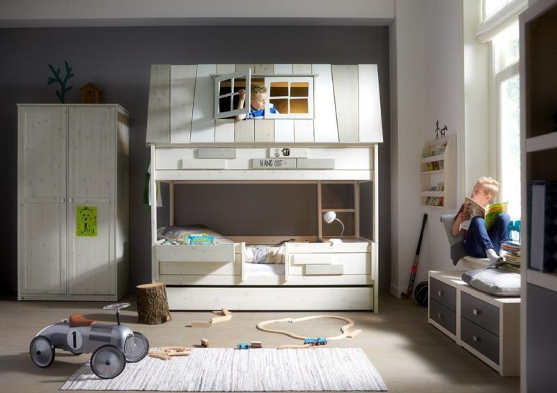 House-Inspired Bunk Beds