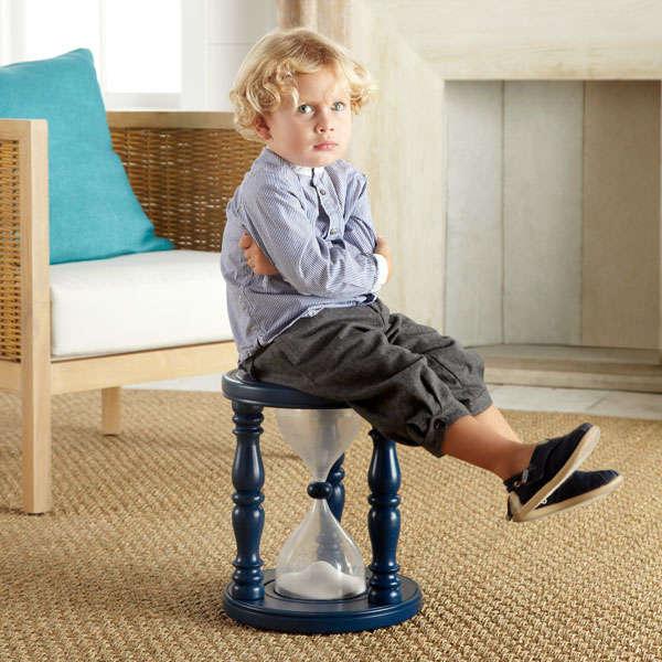 Hourglass Disciplinary Stools