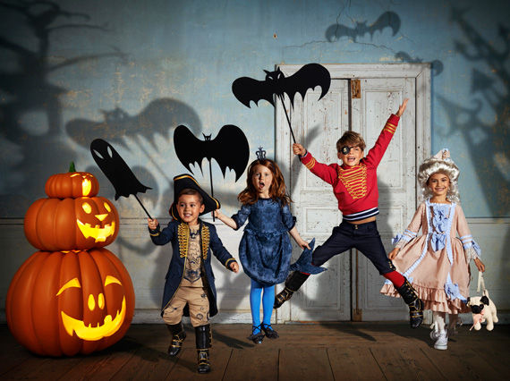 Adorably Sophisticated Children's Costumes