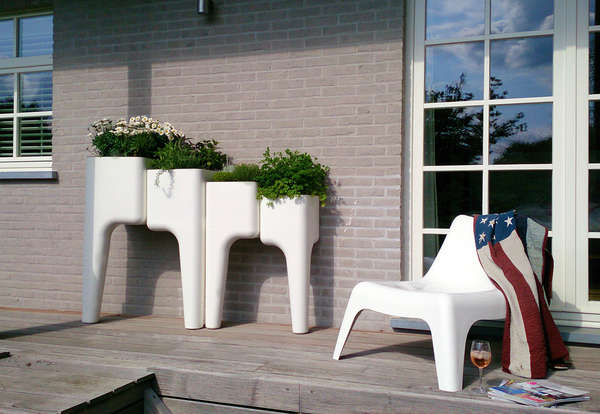 Modular Herb Planters