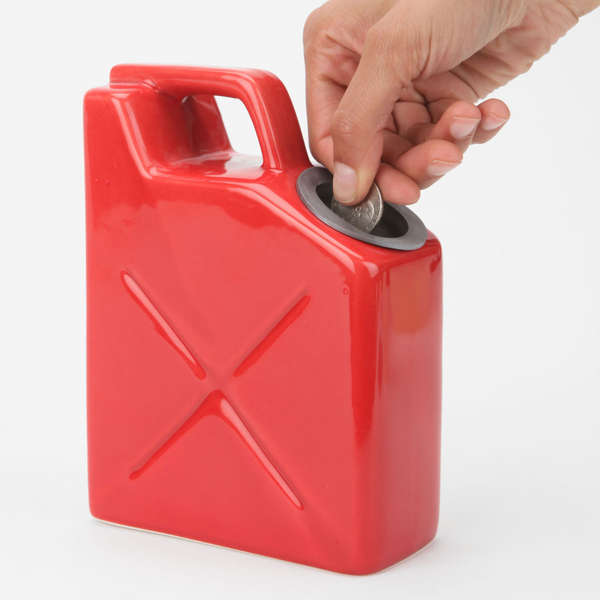 Gas Can Coin Holders