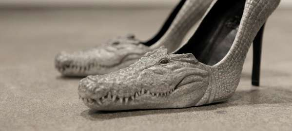 Toothy Crocodile Pumps