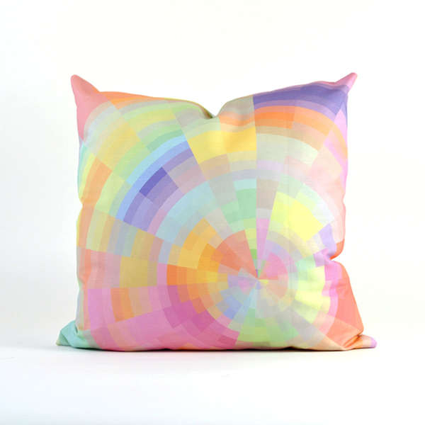 Color Pixelation Cushions