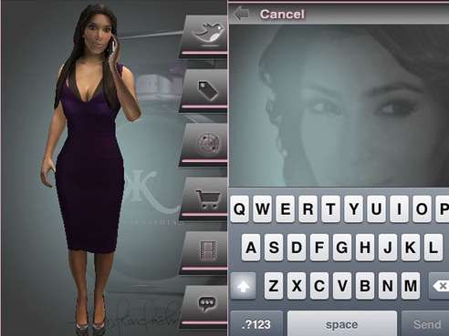 kim kardashian iphone app