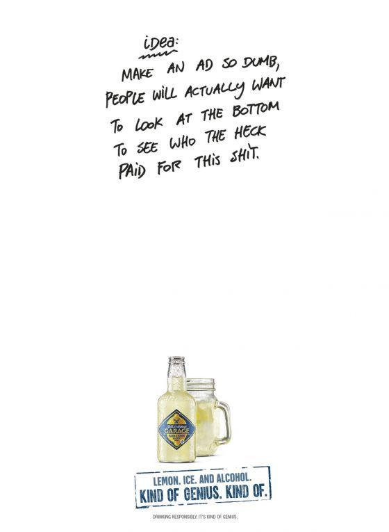 Lazy Booze Branding Ads