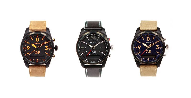 Discreet Analog Smartwatches