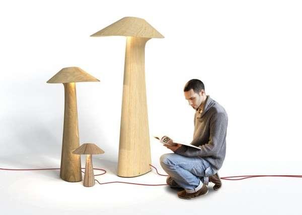 Mushroom-Like Lighting