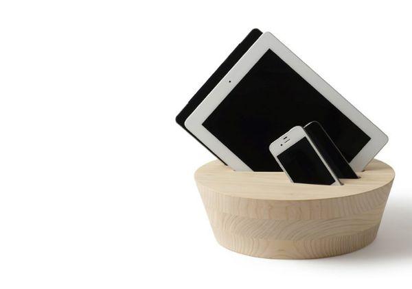 Timber Tablet Docks