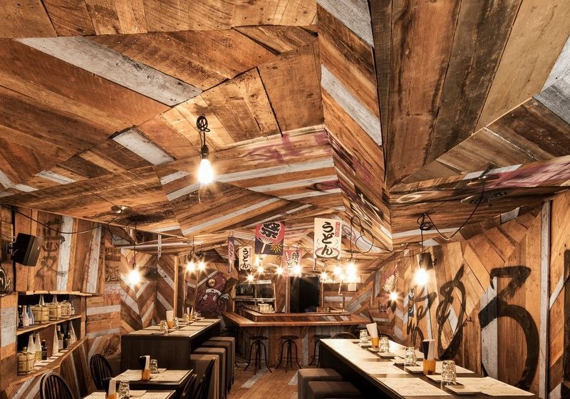 Angular Woodwork Eateries
