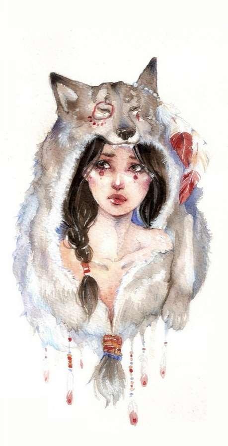 Tribal Teen Female Depictions