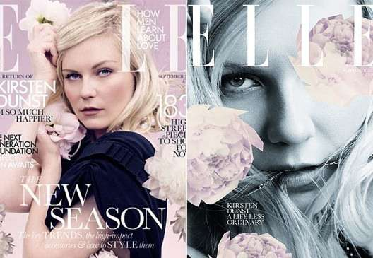 Kirsten Dunst Elle UK September 2011