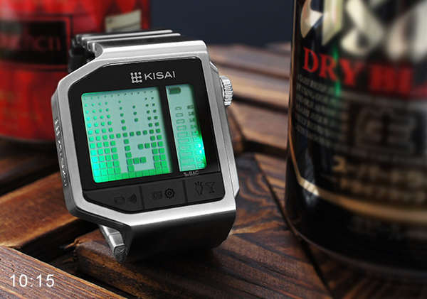 Drunkenness-Detecting Wristwatches