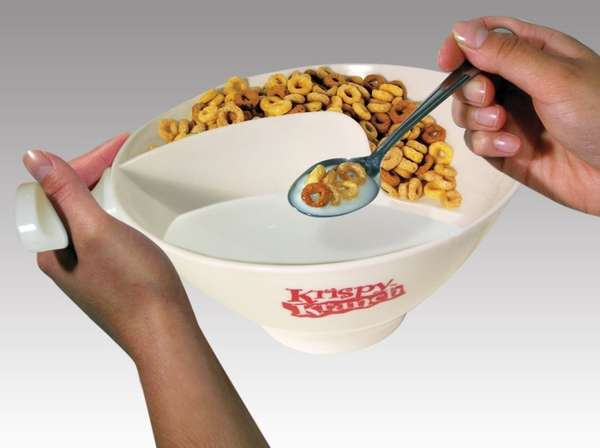 Segregated Cereal Bowls