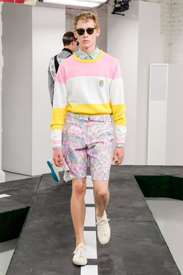 Charming Candy-Colored Menswear