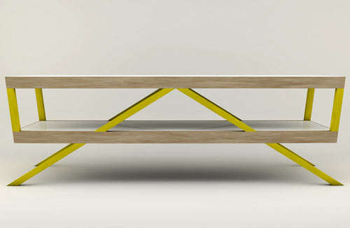 Bright Geometric Furniture