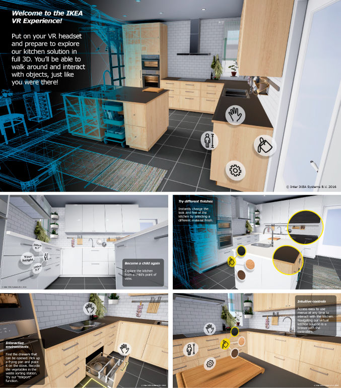 VR Kitchen Simulators
