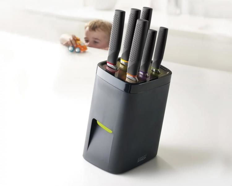 Child-Proof Knife Blocks