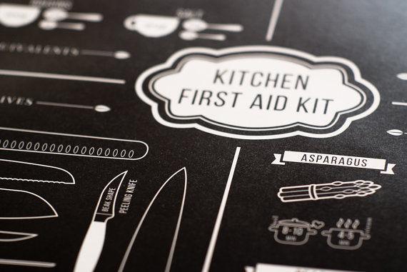 Minimalist Kitchen Aid Posters