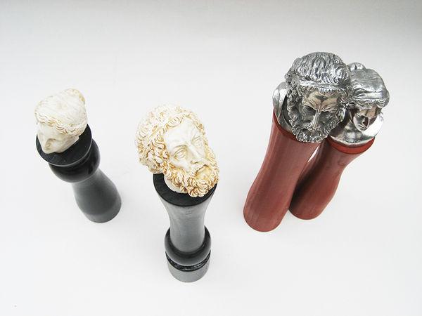 Greek God Pepper Shakers