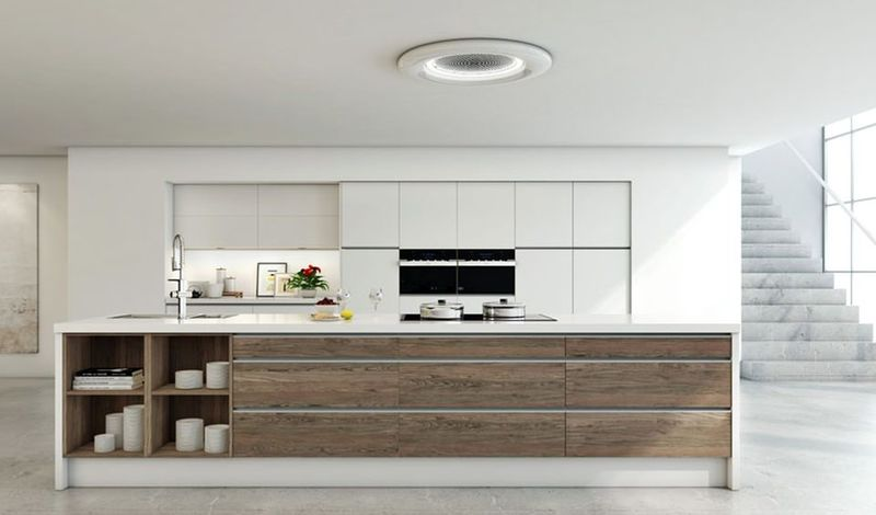 Air-Enhancing Kitchen Range Hoods : Kitchen Range Hoods