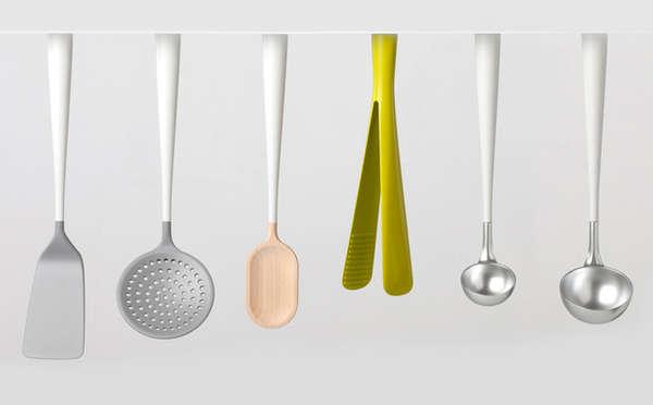 36 smart kitchen serving utensils for Kitchen design utensils