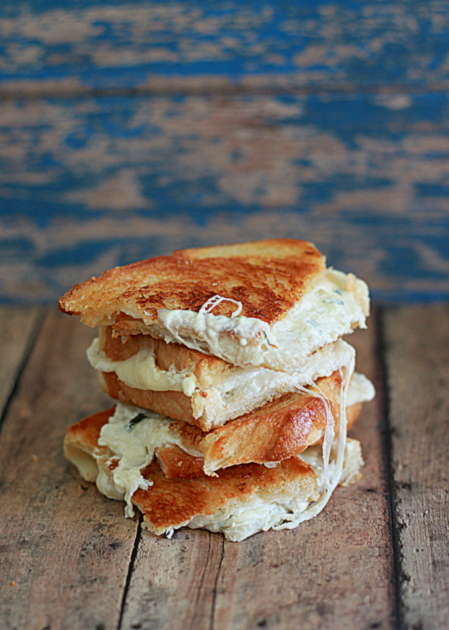 Pizza-Packed Paninis