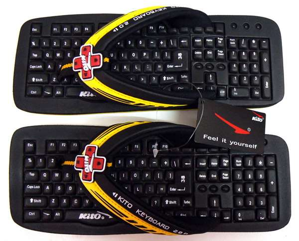Soft Keyboard Sandals