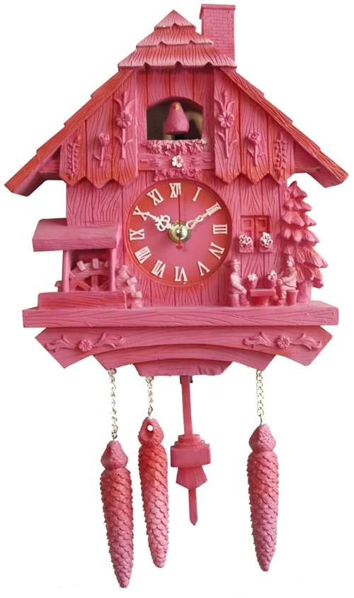 Plastic Kitsch Cuckoo Clocks