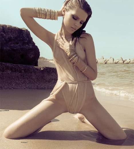 Sensual Seaside Pictorials