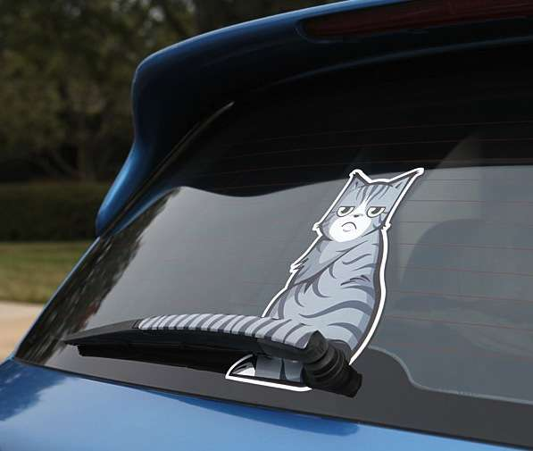 Mood-Changing Car Decals