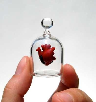 Pulsing Organ Pendants