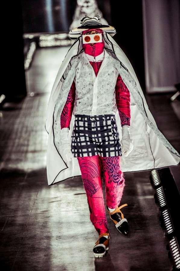 Knitted Mask Menswear