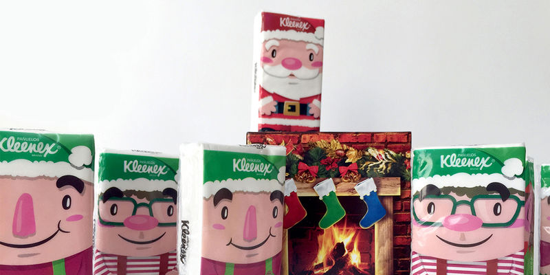 Festive Tissue Packages