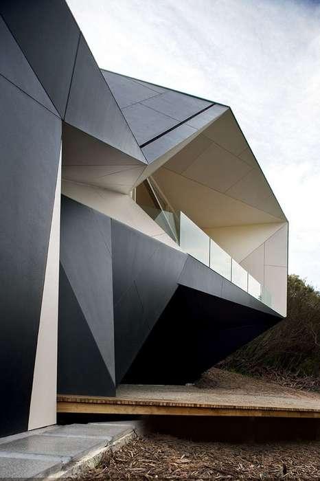 Angular Architectural Abodes Klein Bottle House