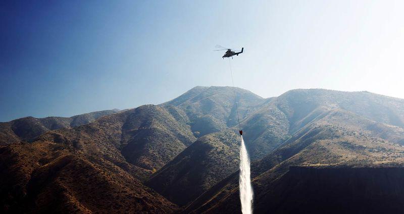 Autonomous Firefighting Helicopters