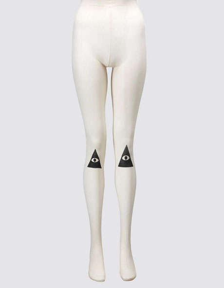 Tarot Card-Inspired Tights