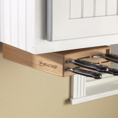 Discreet Kitchen Knife Blocks