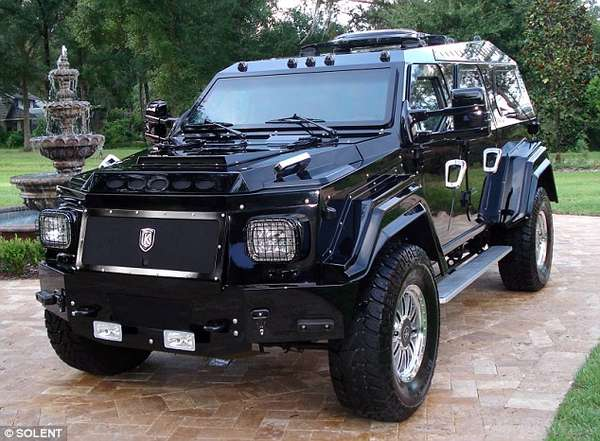 Bulletproof Luxury Vehicles The Knight XV