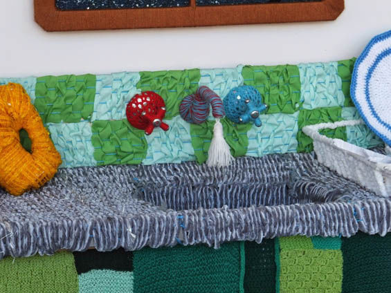 Knitted Kitchen Installations