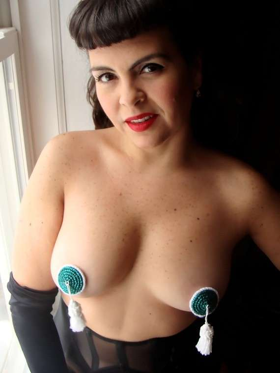 Knitted Nipple Pasties