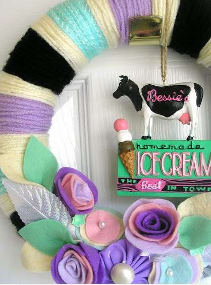 Ice Cream Wreaths